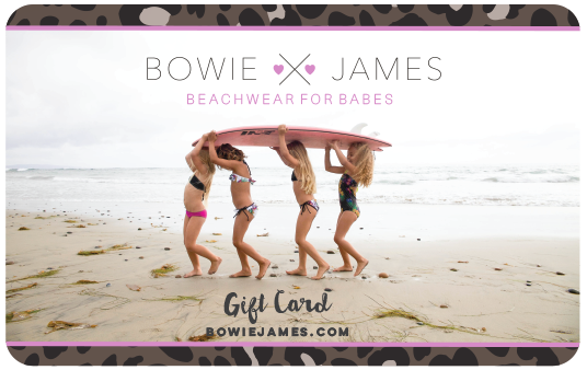 BOWIE X JAMES Gift Card