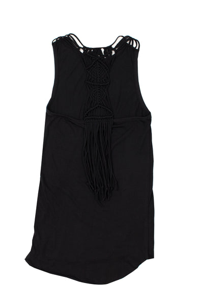 Knotted Up Dress - Titanium