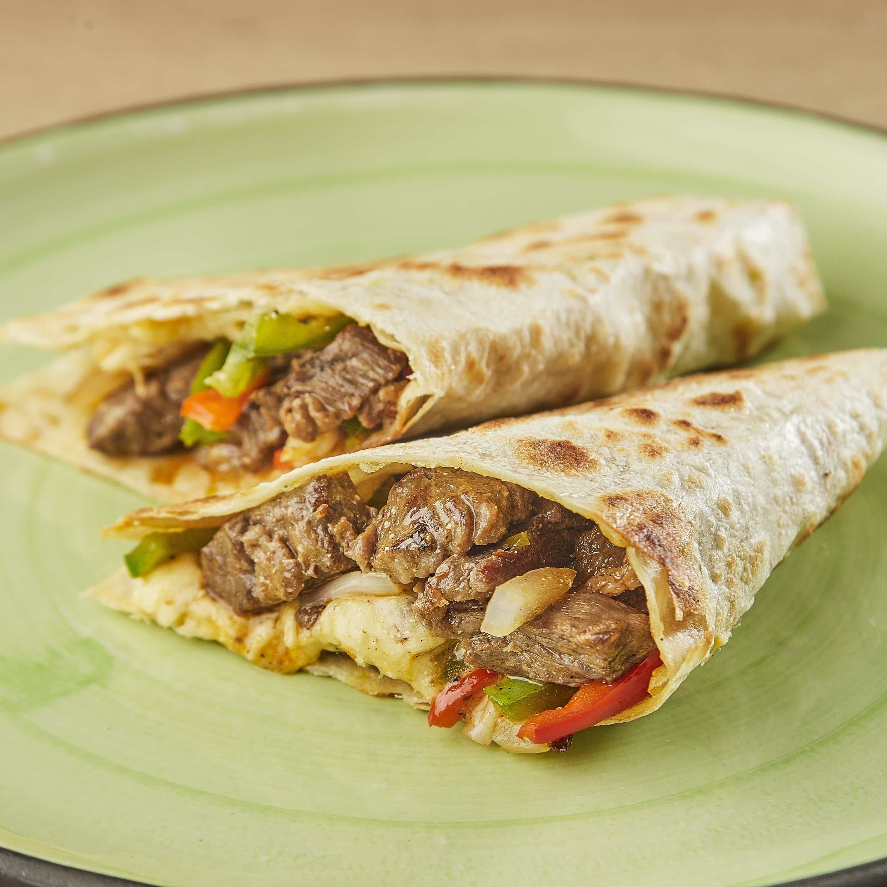 Quesadilla con Arrachera (certified Angus Beef)
