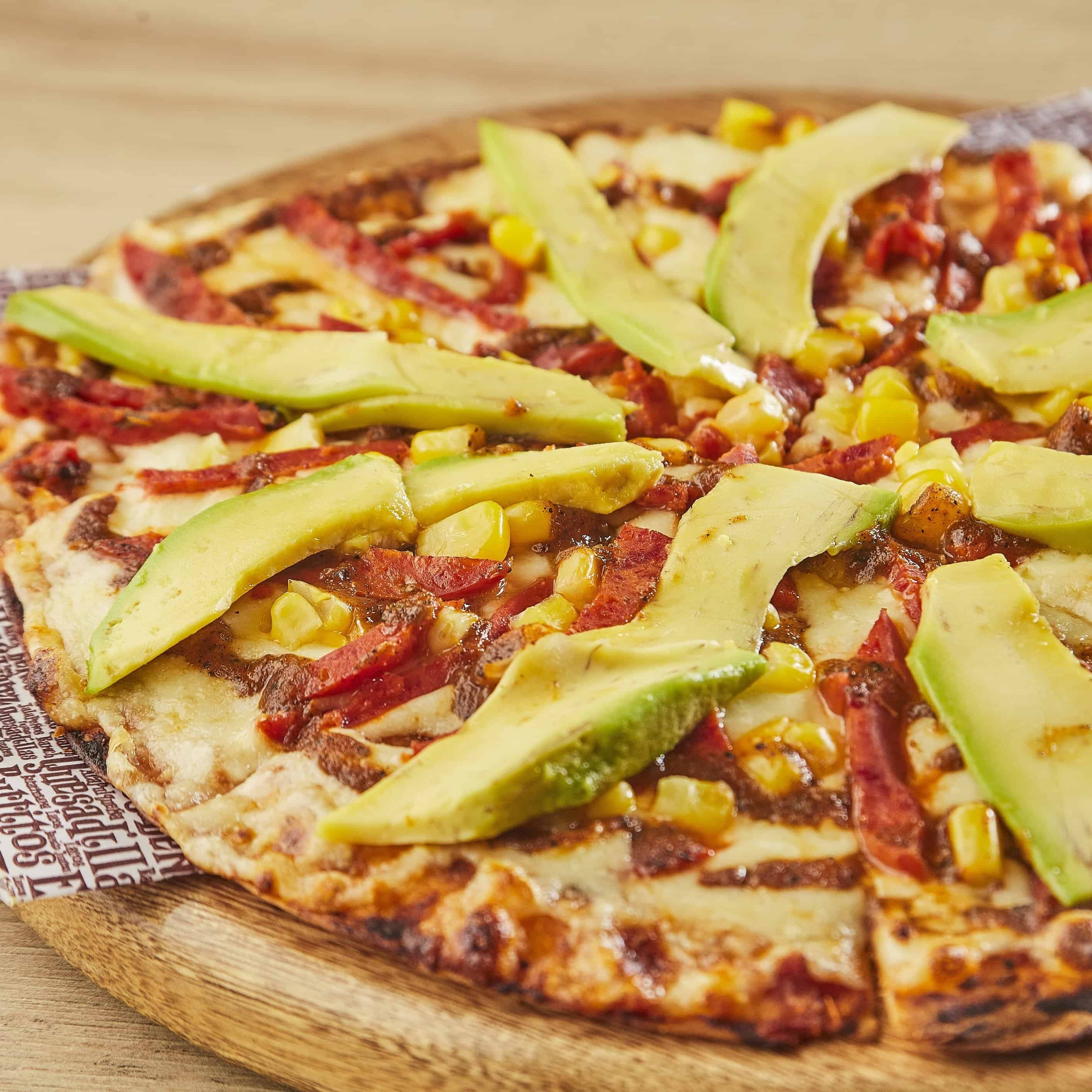 Pizza Avocado