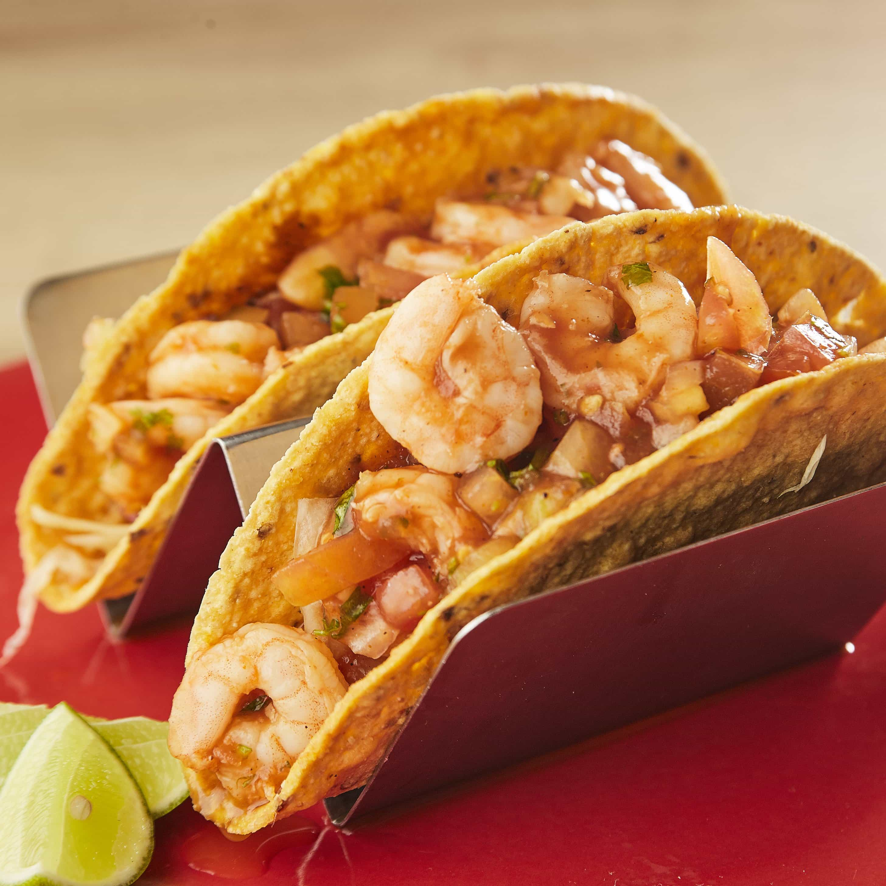 Cocktail Shrimp Tacos
