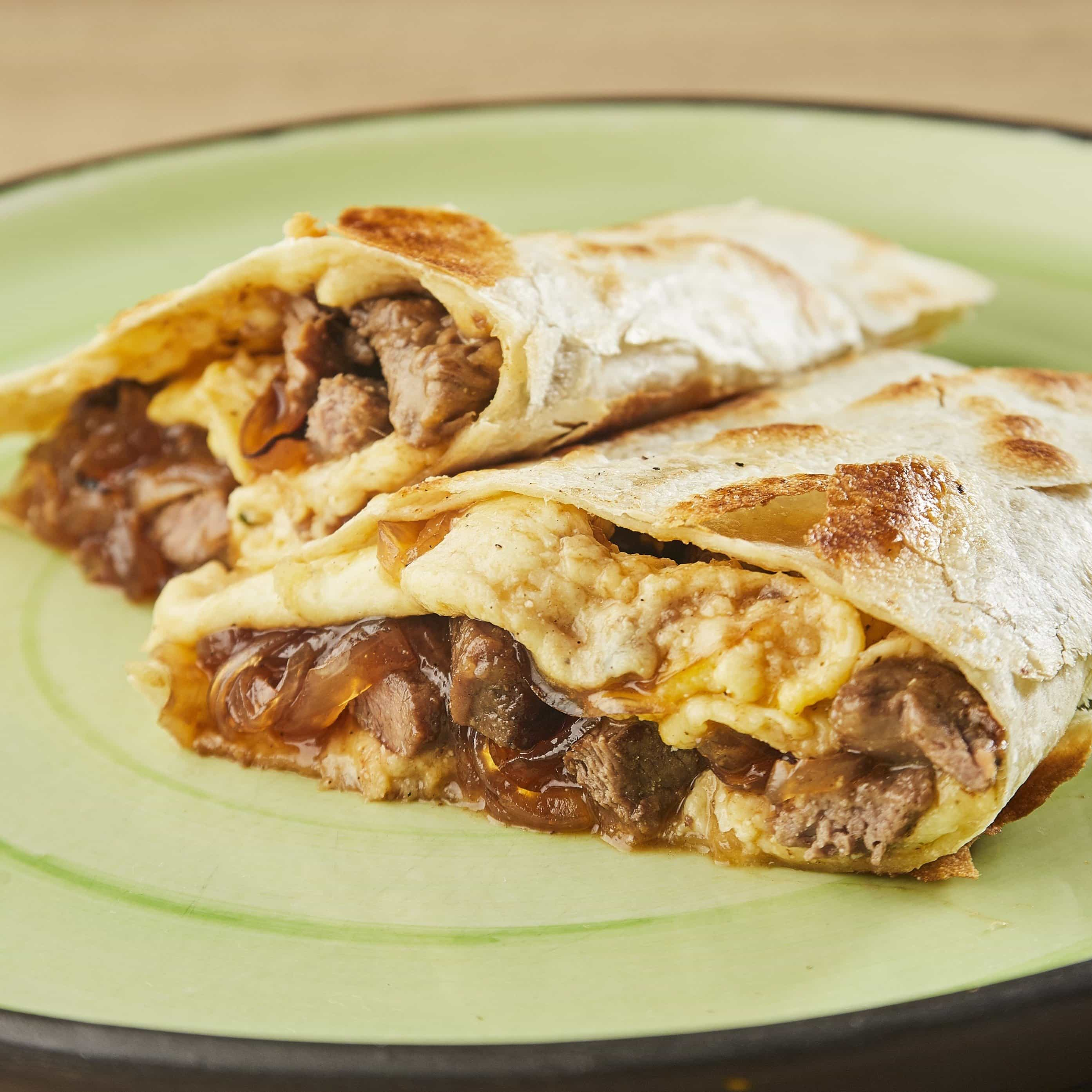 Quesadilla Cebolla Chipotle Steak