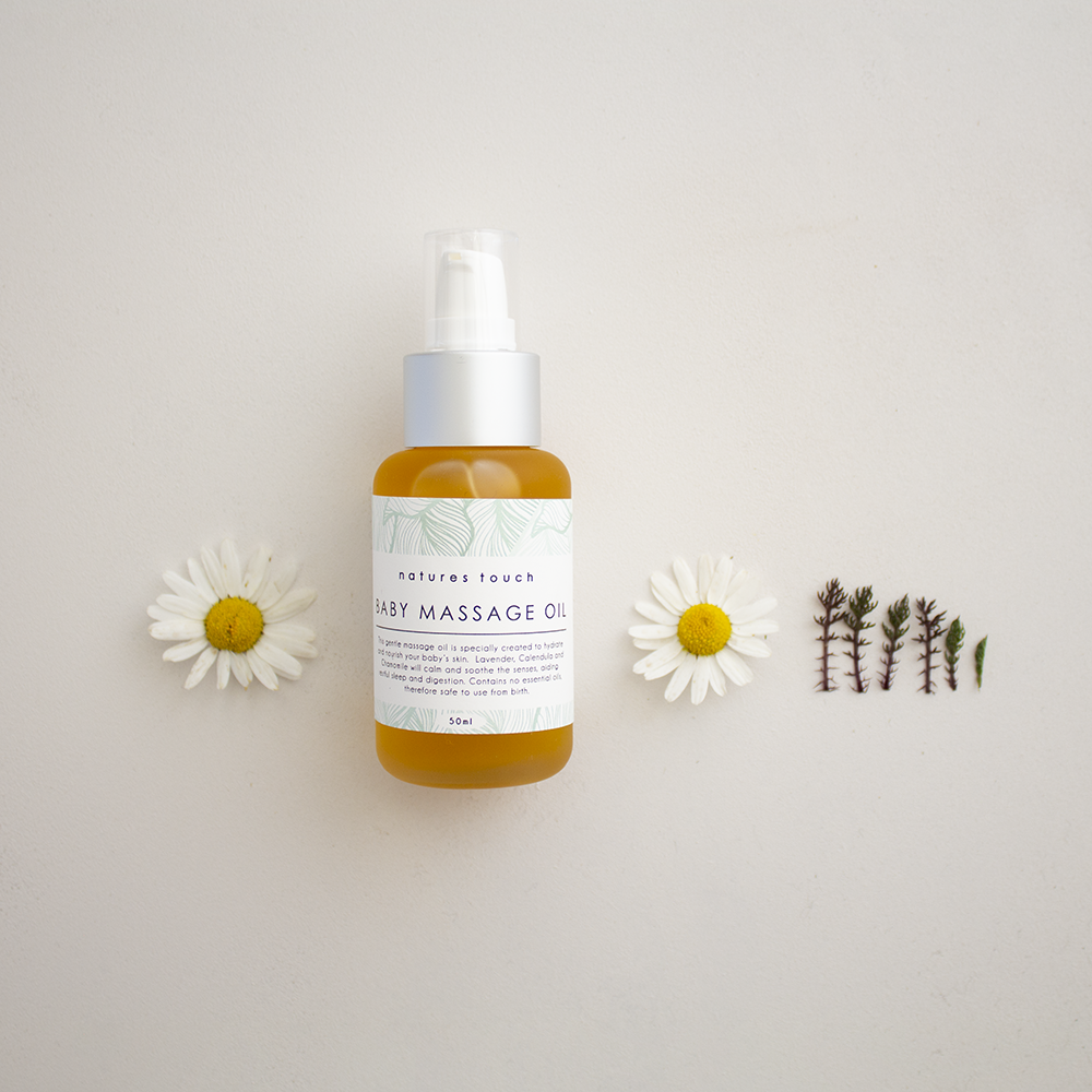 Natures Touch | Baby Massage Oil