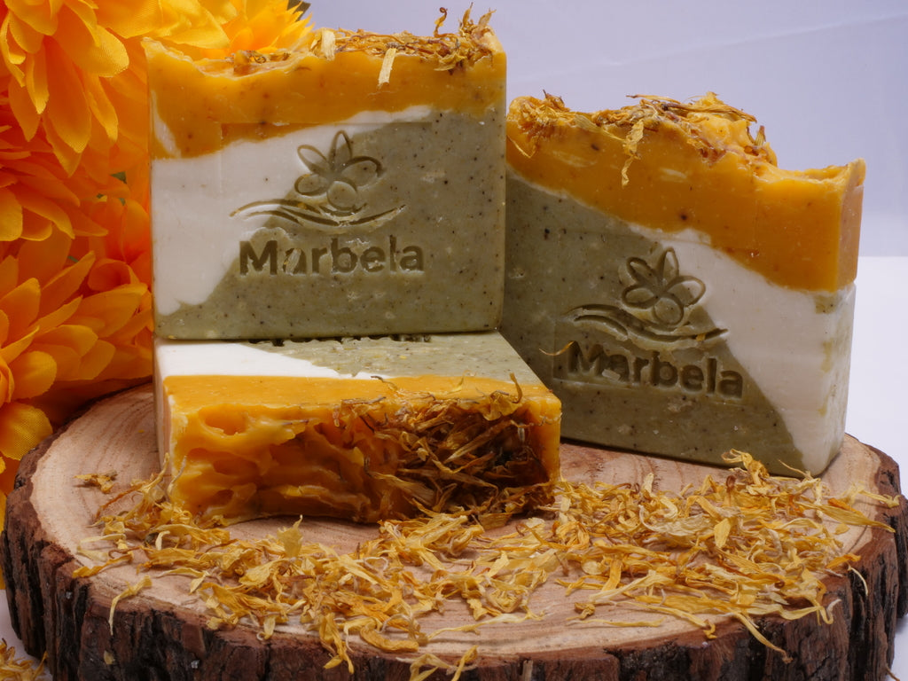 Tuberose & Calendula Bar Soap
