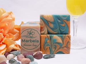 On the Beach with Primrose and Citrus Bar Soap