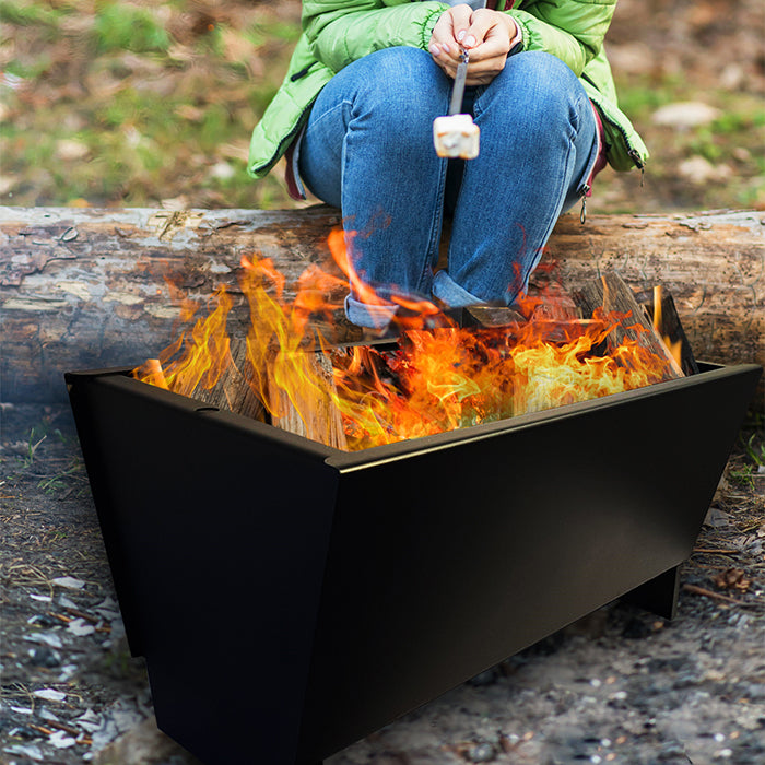 Fire Pit with Oversize Ice Bucket