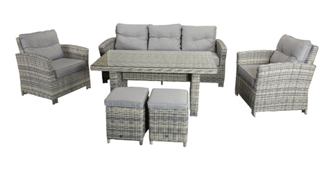 AMY SOFA DINING SET - Amy0213 - Modern Rattan