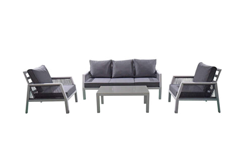 BETTINA 5 SEAT SOFA SET - Bett0327 - Modern Rattan