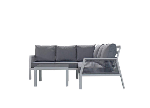 BETTINA 6 SEAT CORNER SOFA SET - Bett0328 - Modern Rattan