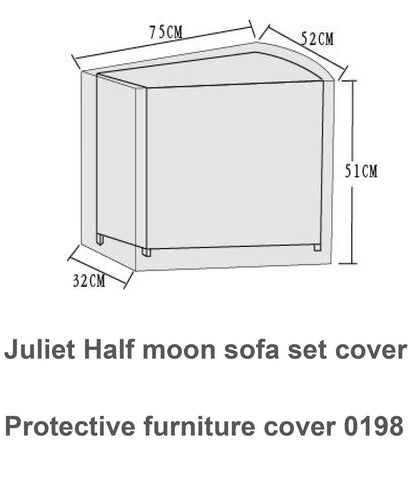 Cover To fit Juliet - COVE0198 - Modern Rattan