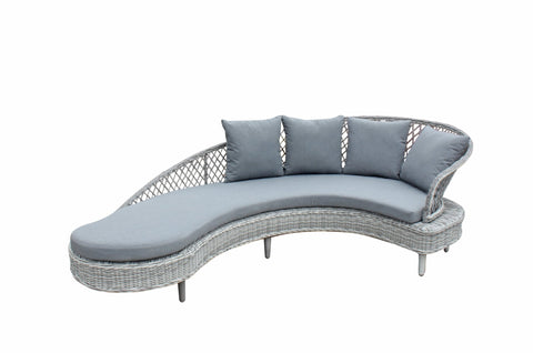 Serenity luxury sofa collection in textilene rope weave - SERE0277 - Modern Rattan