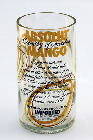 Absolut Mango Vodka Glass