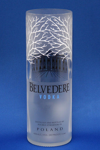 Belvedere Vodka Bottle Vase