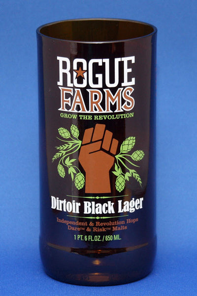 Rogue Dirtoir Black Lager Glass