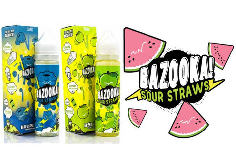 Bazooka Sour Straws - 60mL