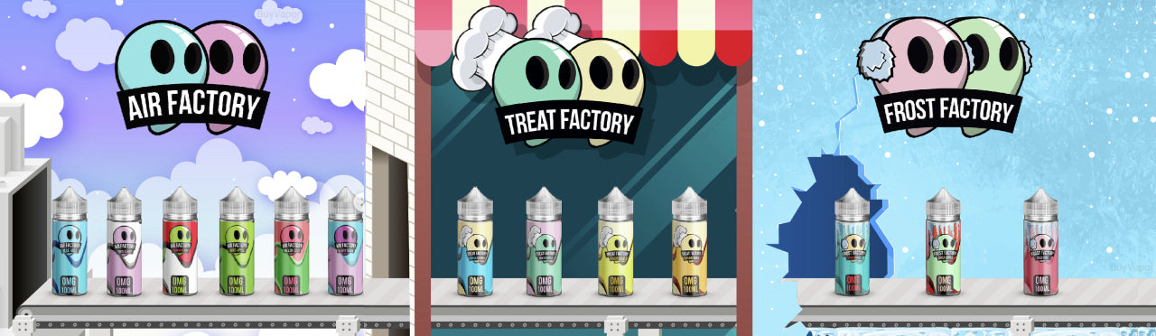 Air Factory Frost Factory Treat Factory 100mL