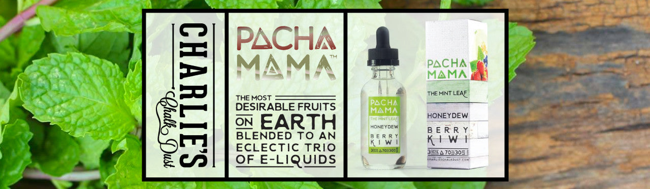 Pacha Mama New Flavor 60mL Mint Leaf