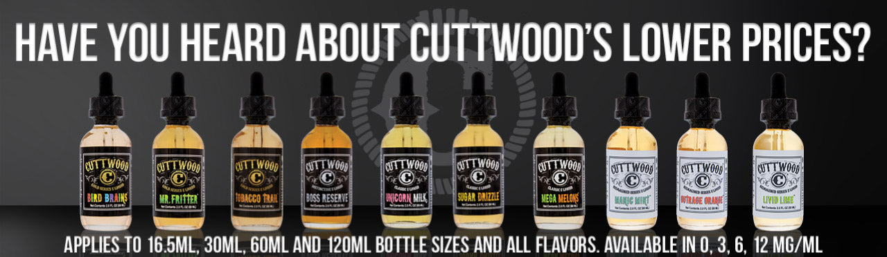 Cuttwood 120mL Wholesale