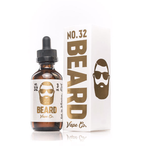 Beard Vape - 60ml - No. 32 - 00mg - Zero