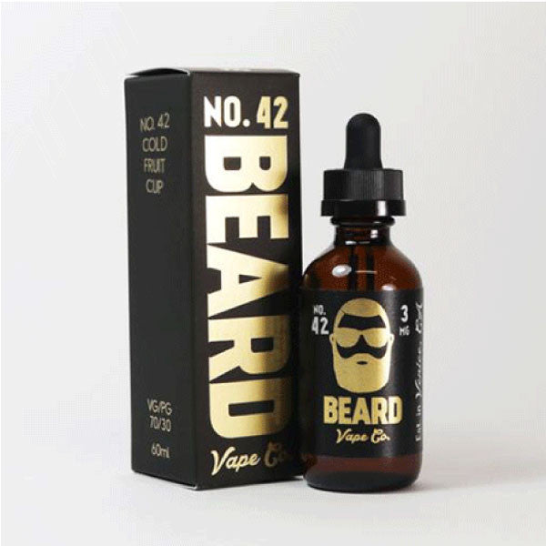 Beard Vape - 60ml - No. 42 - 00mg - Zero