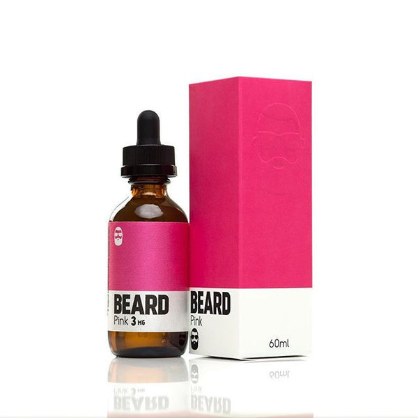 Beard Vape Colors - 60ml - Pink - 03mg