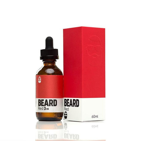 Beard Vape Colors - 60ml - Red - 00mg - Zero