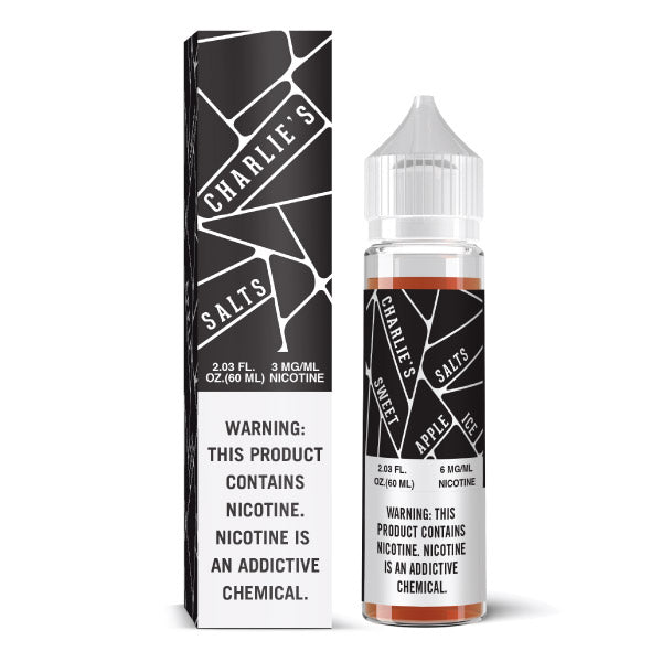 60mL Charlies Chalk Dust Salts - Black (6mg/mL)
