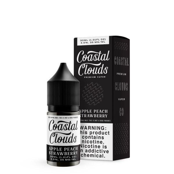 30mL - Coastal Clouds - Apple Peach Strawberry Salts 50