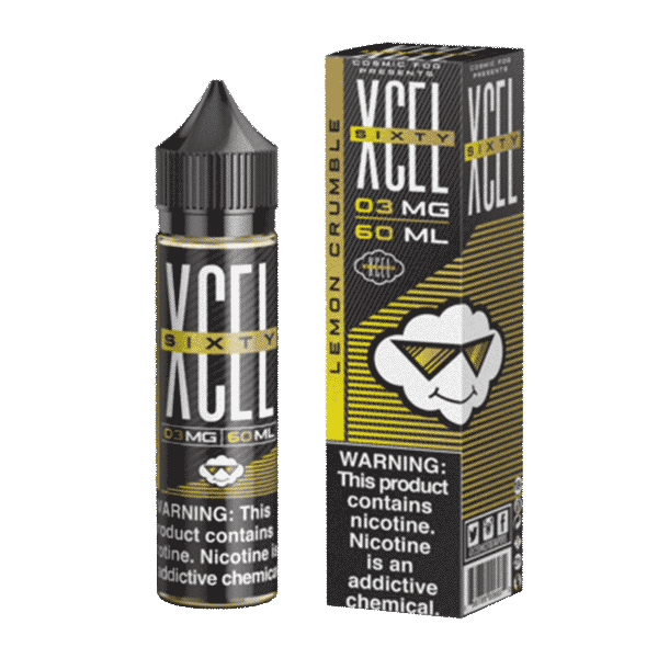 XCEL SIXTY - LEMON  CRUMBLE - 06