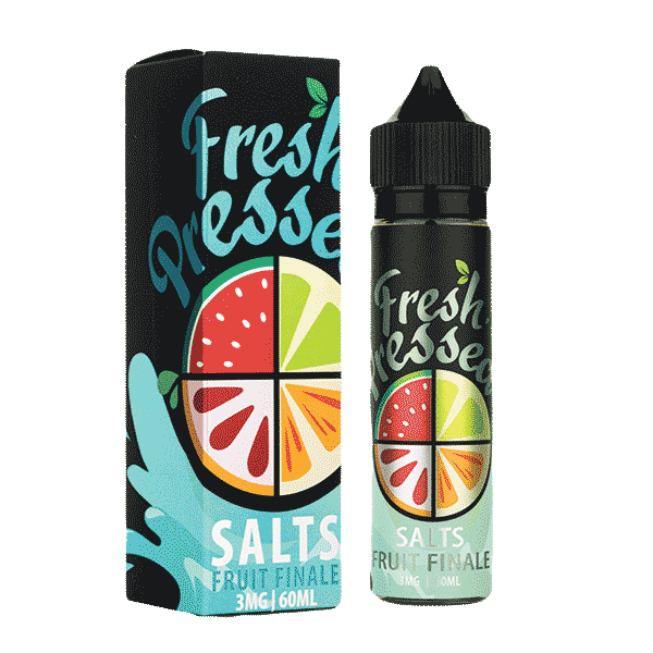 60mL Fresh Pressed SALTS - Fruit Finale - 03mg