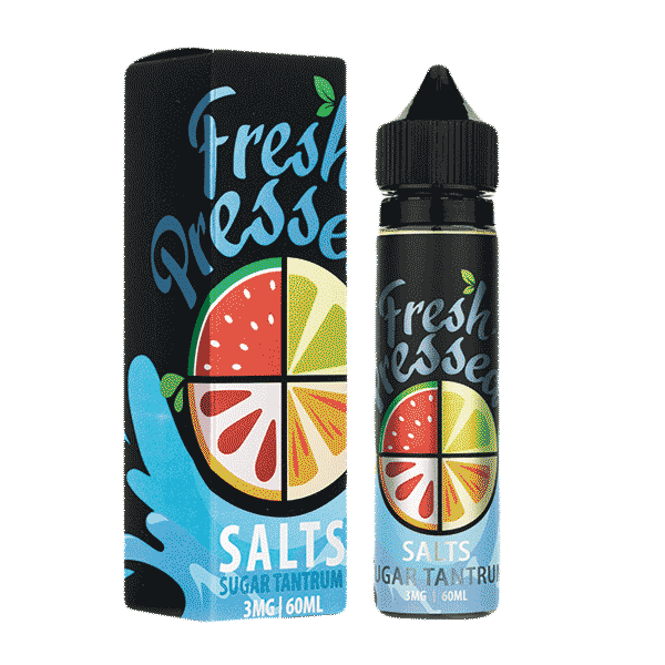 60mL Fresh Pressed SALTS - Sugar Tantrum - 12mg
