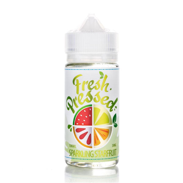 100mL Fresh Pressed - Sparkling Starfruit - 00mg - Zero