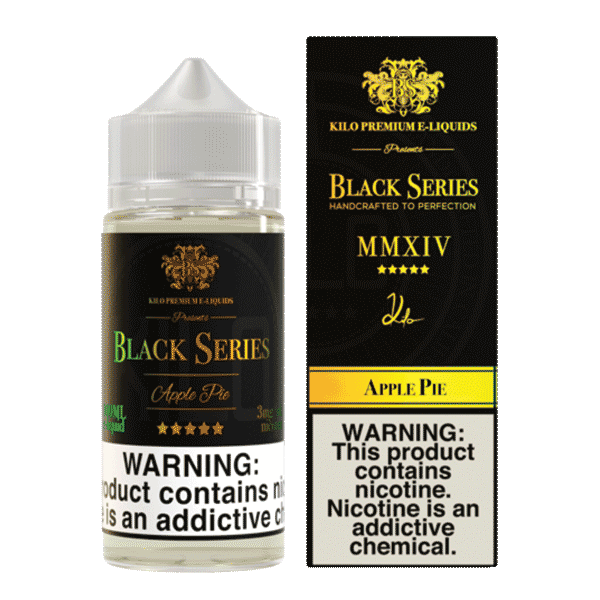 KILO Black Series - 100mL - Apple Pie- 03mg