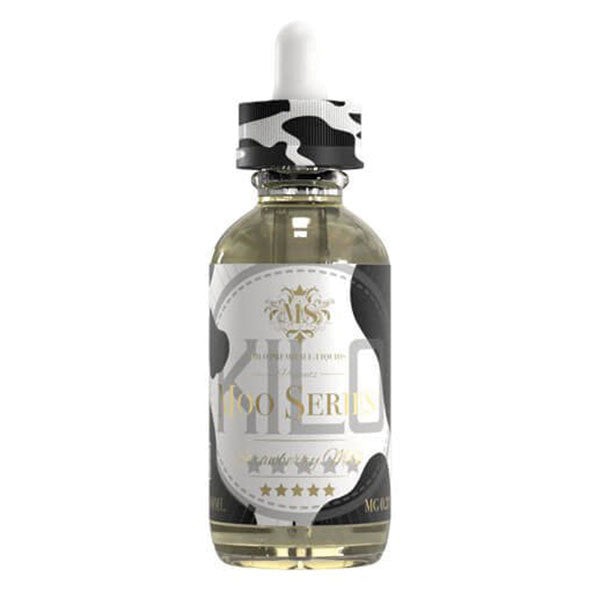KILO Moo Series - 60mL - Strawberry Milk - 00mg - Zero