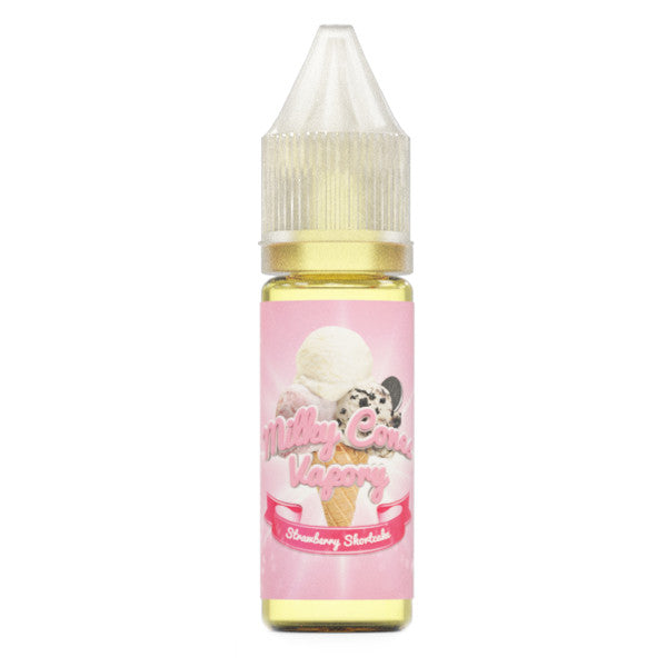 45mL - Milky Cones - Strawberry Shortcake - 00mg - Zero