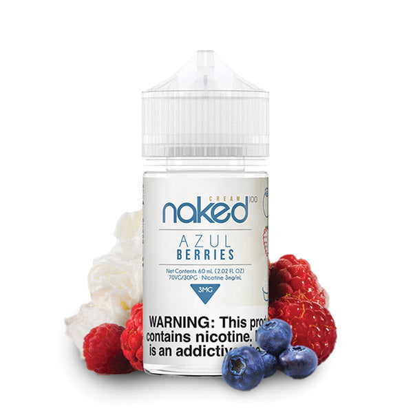60mL - Naked - Azul Berries - 12