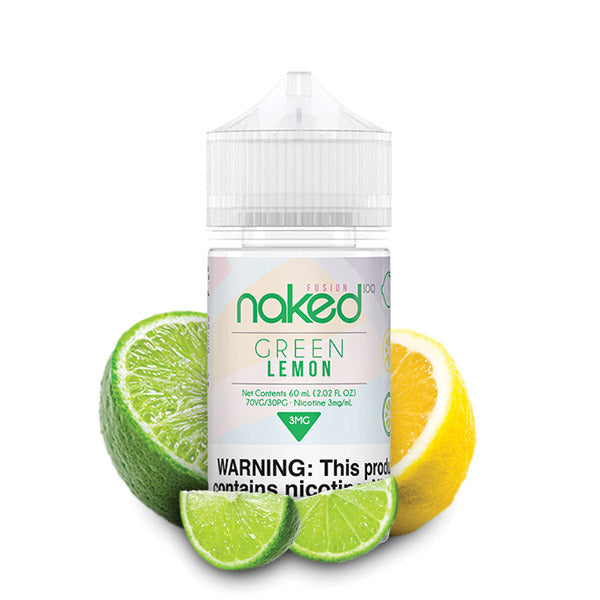 60mL - Naked - Green Lemon - 12