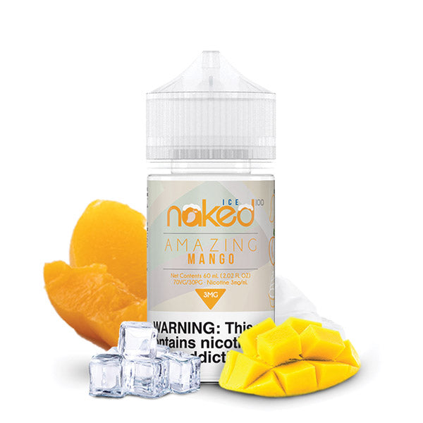 60mL - Naked - Amazing Mango ICE - 12