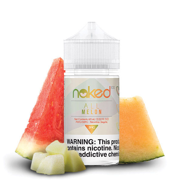 60mL - Naked - All Melon - 12