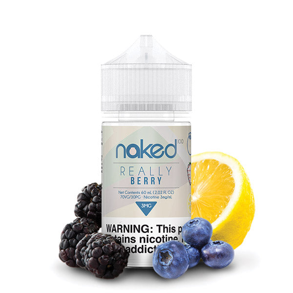 60mL - Naked - Really Berry - 00 - Zero