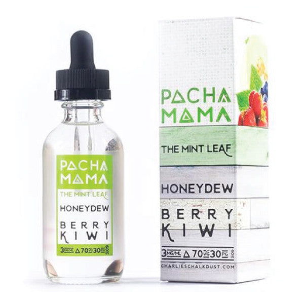 60mL - Pacha Mama - The Mint Leaf - Honeydew Berry Kiwi - 03mg