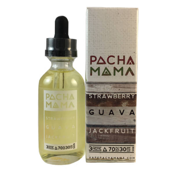 60mL - Pacha Mama - Strawberry Guava Jackfruit - 06mg