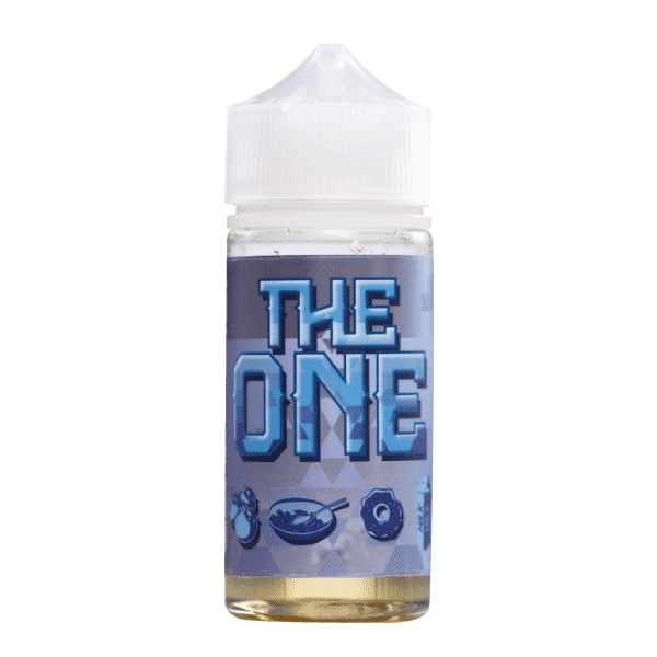 100mL - The One - Blueberry Cereal Donut Milk - 00mg - Zero