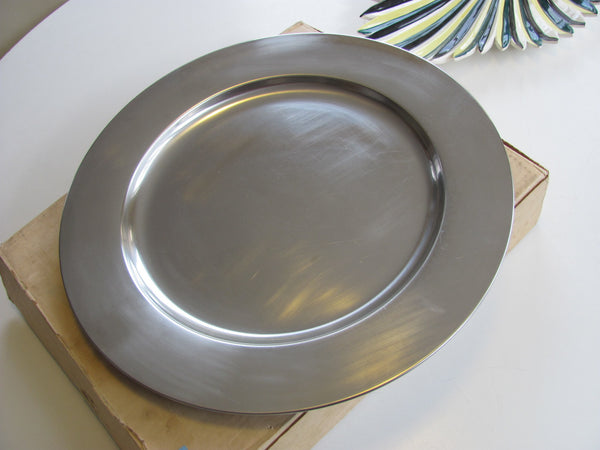 Danish Modern Stainless Steel Tray
