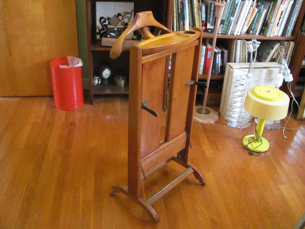 Furnishings : Vintage Italian Clothing Valet - Sold