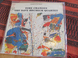 LP - Time Changes Dave Brubeck Quartet