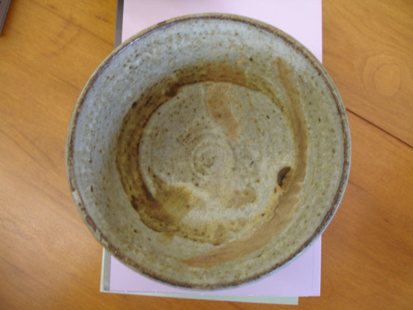 "Ceramics: Toshiko Takaezu bowl 6"" diam. x 3.38"" high. Free shipping in the USA."