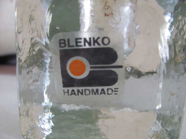 Glass: Blenko Candle Holder