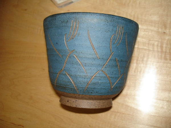 Ceramics: Scheier bowl incised