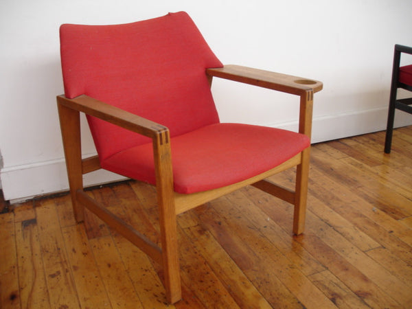 Chair: Danish Modern Lounge Chair attributed to Borge Mogensen
